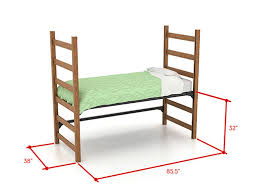 loft bed for kids youth teen college adults made in usa throughout