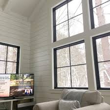 Black Trim Windows Decor Black Window Trim Modernize With Regard To Frames Designs 10