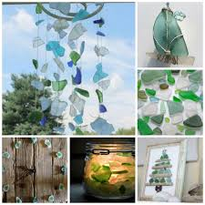 sea glass ornaments salt dough tree ornament ted s