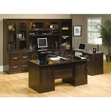 Sauder Office Desks Scratch Dent Sauder Office Port Outlet Executive Desk 29 1 2 H