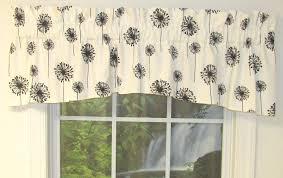 chic black valances for window 52 black and gold valance window treatments jpg