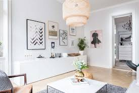 bright and airy two bedroom scandinavian apartment interior