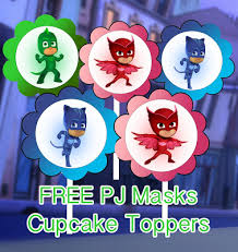 pj masks party printables free mandy u0027s party printables