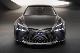 pictures of lexus lf lc lexus lf fc flagship concept is a thinly veiled ls with fuel cell