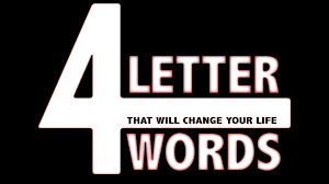 new teaching series 4 letter words calvary church of the quad