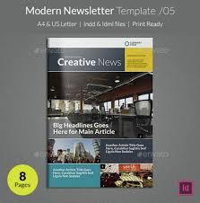 90 best printable newsletter templates indesign indd u0026 pdf