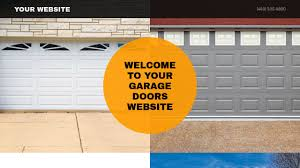 garage door website template i34 all about cheerful home design