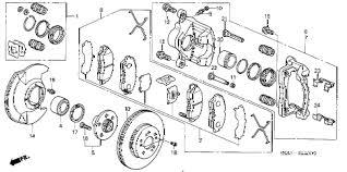 honda crv brake honda store 2003 crv front brake parts