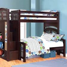 twin bunk bed with trundle and stairs u2013 jenniferascher me