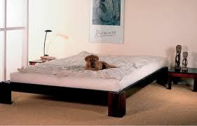 bedroom interesting dark wood tatami bed with smooth royal velvet