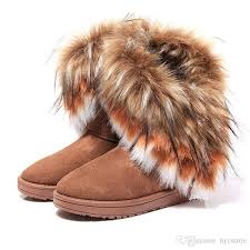womens boots sale dhl free sale comfortable imitation fox fur winter warm