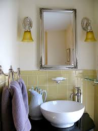 awesome vintage yellow bathroom tile in decorating home ideas with