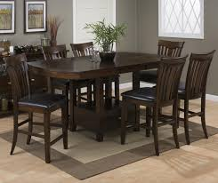 small kitchen table chairs counter high dining tables reclaimed wood counter height table