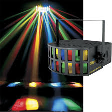 Used Dj Lighting Chauvet Double Derby Effects Light 2 X 64514 Pssl