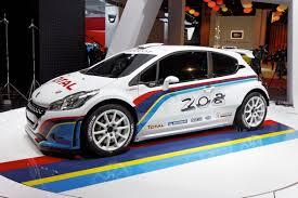 peugeot world file peugeot 208 r5 mondial de l u0027automobile de paris 2012
