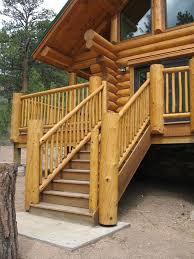 new composite deck log rail