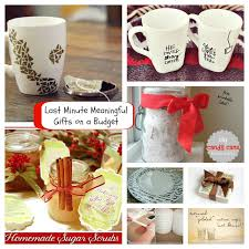 last minute meaningful gifts on a budget frugal gift and holidays