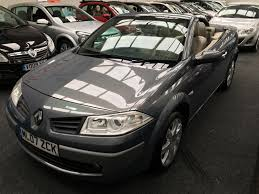 used renault megane privilege convertible cars for sale motors co uk