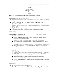resume sample office assistant health benefits administrator