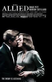 click to view extra large poster image for allied movie posters