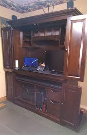 Amish Computer Armoire Amish Computer Armoire