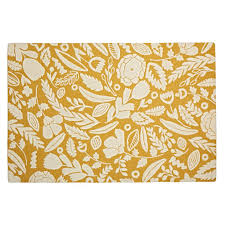 Yellow Rugs 5x8 Grey Forest Floor Kids Rug The Land Of Nod
