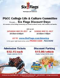 Six Flags Tickets Maryland Prince George U0027s Cc On Twitter
