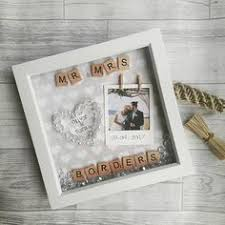 unique wedding presents ideas use scrabble tiles to make a personalized box frame wedding or