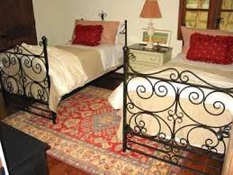 hand made forged iron bed wrought iron bed by david browne metal