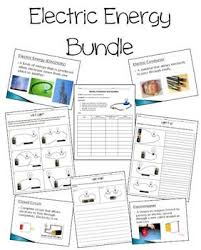 electric circuits worksheets bundle by jaclyn clements tpt