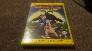 rabbit dvd wallace and gromit the curse of the were rabbit uk dvd unboxing