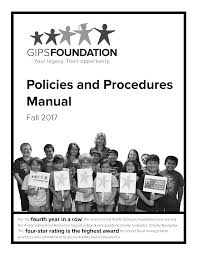 foundation policies and procedures manual grand island public