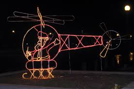 lafreniere park christmas lights santa helicopter flickr
