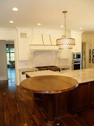 countertops brun millworks walnut wood countertop 54 diameter large double roman ogee edge permanent finish this walnut round top was installed in charlotte nc
