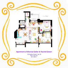 Floor Plans With Pictures Of Interiors Floor Plans Of Your Favorite Tv Apartments Nerdist