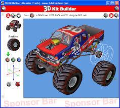 download 3d kit builder monster truck 3 5