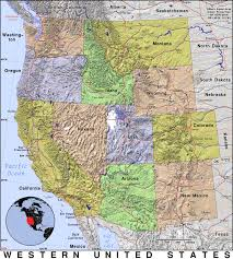 Ccw Map Western Us Map My Blog Western States Wall Map Mapscom Map Usa