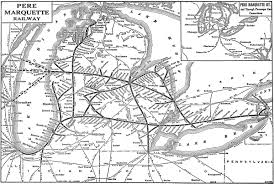 Western Michigan Map by The Pere Marquette Railway