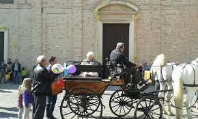 bianchi carrozze carrozza e cavalli bianchi desiderio esaudito per nonna zaira