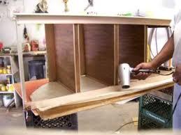 Cabinet Vinyl Covering Repair YouTube - Kitchen cabinet repairs