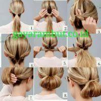 tutorial menata rambut panjang simple 19 cara menata rambut panjang untuk sehari hari paling mudah dan