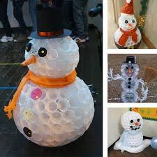 Snowman Chair Covers 61 Easy And In Budget Diy Christmas Decoration Ideas Part Iii
