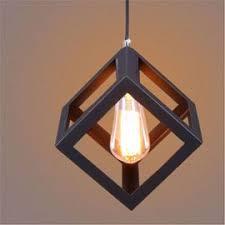 lustre bureau ferandhome les suspension classique lustre géométrique carré