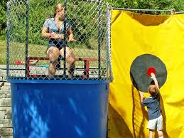 dunk booth rental dunk tank rental fundraisers omaha ne services