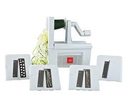 pro en cuisine paderno cuisine spiralizer pro 4 blade เคร องสไลด แนวนอน