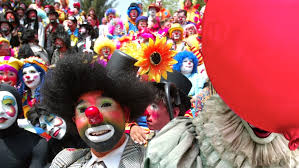 clowns for birthday in nyc new york clowns to protest it drop in business a move that