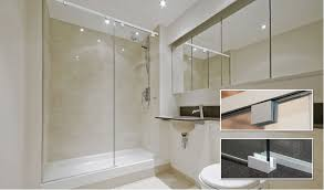 Diy Frameless Shower Doors Cr Laurences Cabo Soft Slide Frameless Shower Door Systems With