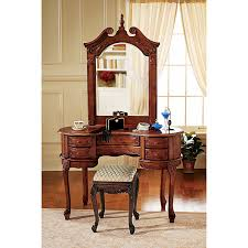 amazon com design toscano the queen anne dressing table and