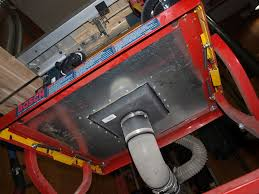 table saw vacuum dust collector table saw dust collection router forums
