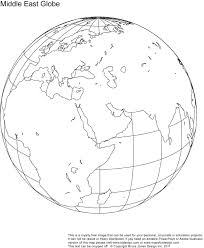 Blank Maps Of Asia by Printable Blank World Globe Earth Maps U2022 Royalty Free Jpg